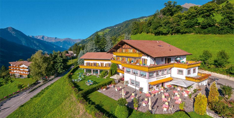 Hotel in Verdins bei Schenna, oberhalb von Meran