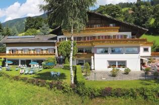 Das Hotel Mitlechnerhof in Verdins bei Schenna