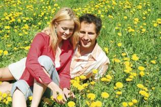 Frühlingsurlaub in Verdins bei Schenna oberhalb von Meran