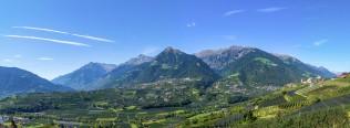 Schenna-Dorf-Tirol-Panorama